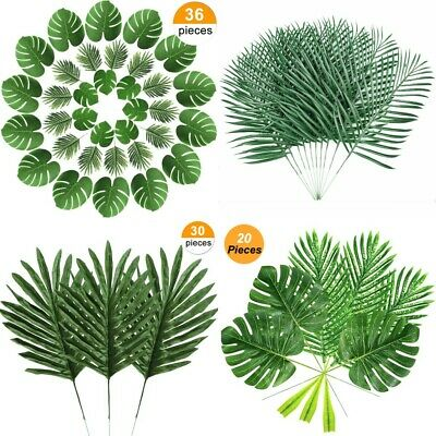 Artificial Palm Leaves Plastics Leaves. 1 10pcs Palm