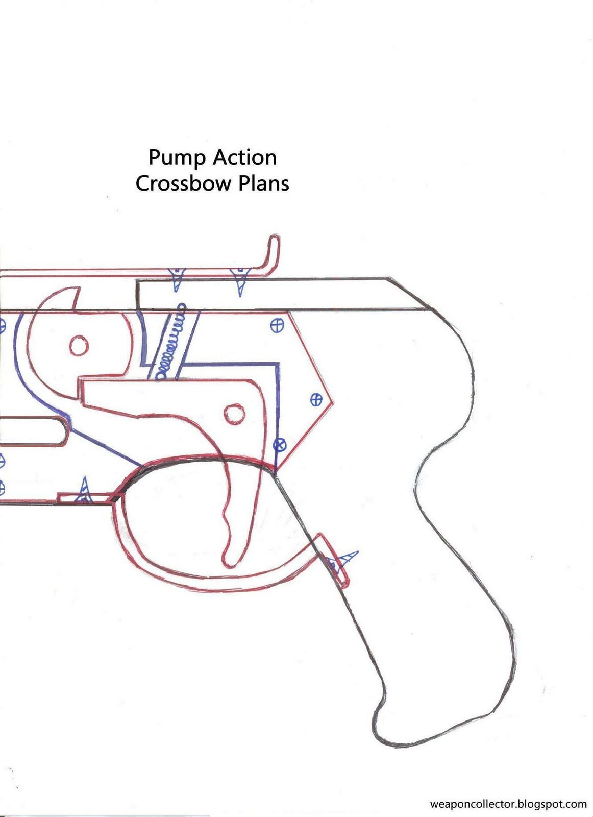 Horton Crossbow Parts Diagram Pdf Schematics Wiring Diagrams Trailer Pin By Keinslee Nicolas On Pump Action Pinterest Rh Com Trigger Mechanism