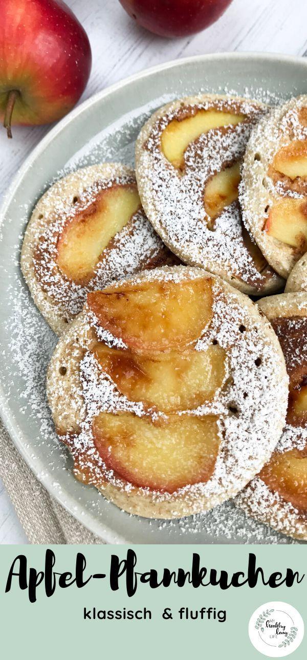 Apfel-Pfannkuchen (klassisch und fluffig) | Rezept ...