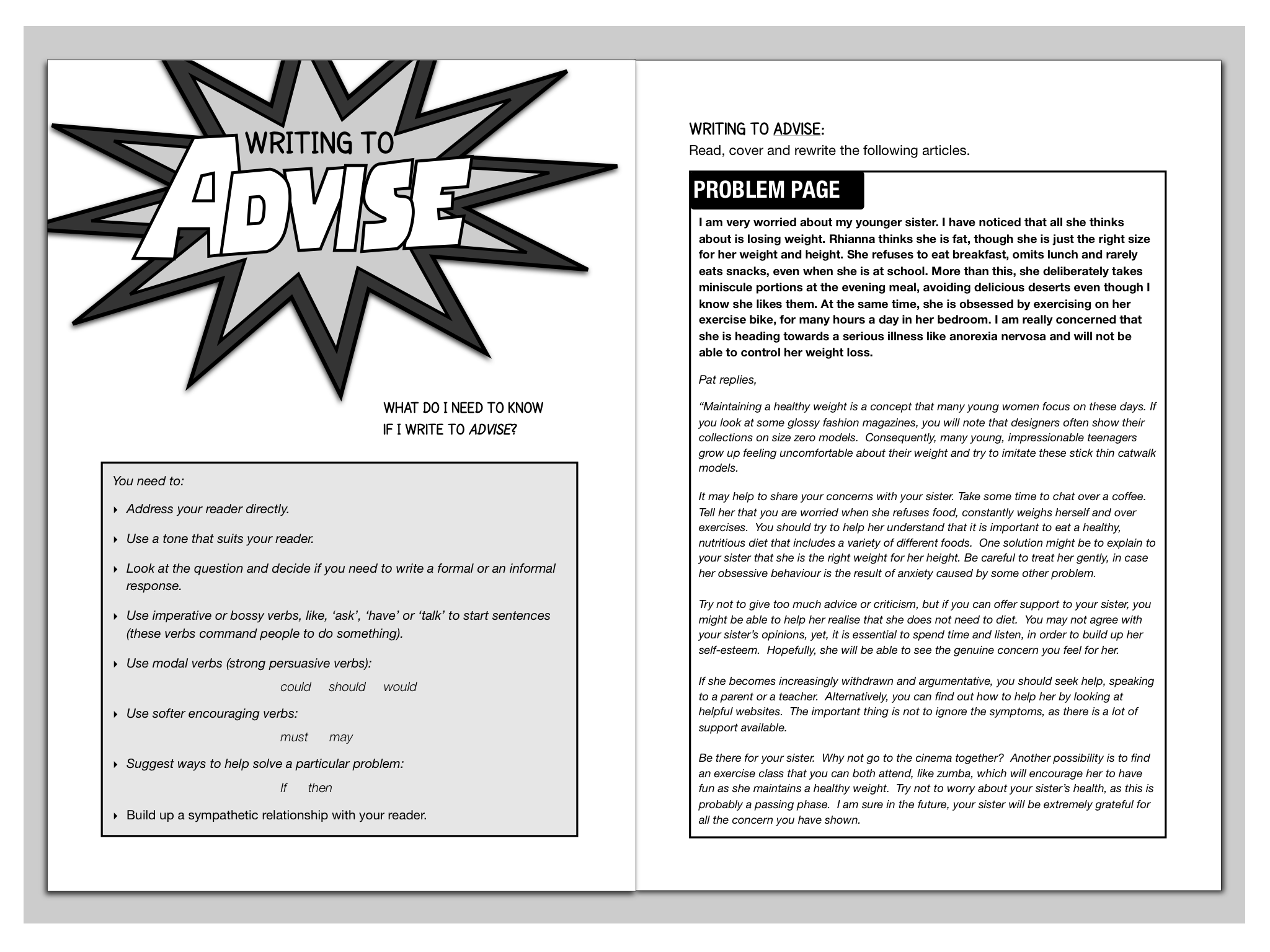 A Few Sample Pages From Our New Gcse Revision Guide How