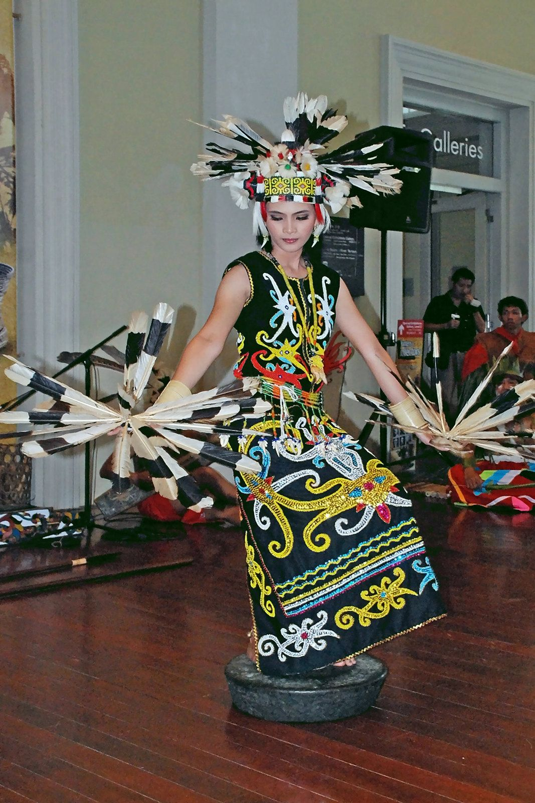 Tarian Daerah Kaltim : tarian, daerah, kaltim, Dayak, Performance, Borneo, Tattoo,, Traditional, Dance,