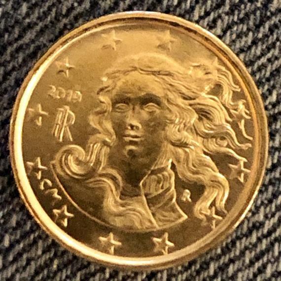 Coin 10 Eurocent Italy 2019 Rare Euro 10 Cent Italia Nascita Di