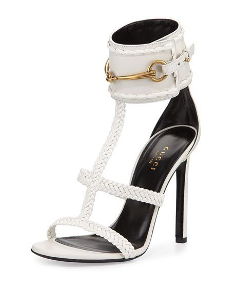 818de776eea0 Gucci Ursula Braided Leather Sandal