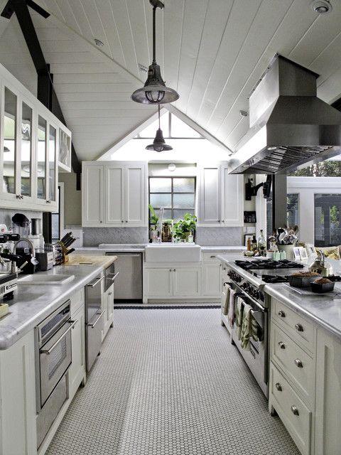 Helena 2 - traditional - kitchen - los angeles - Tim Barber LTD Architecture & Interior Design