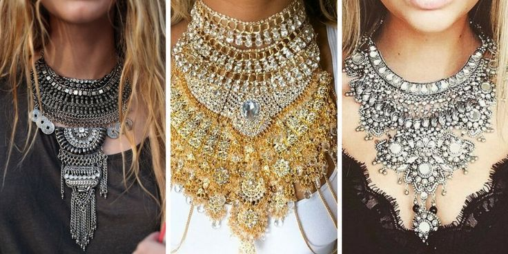 Beautiful models of womens necklaces -