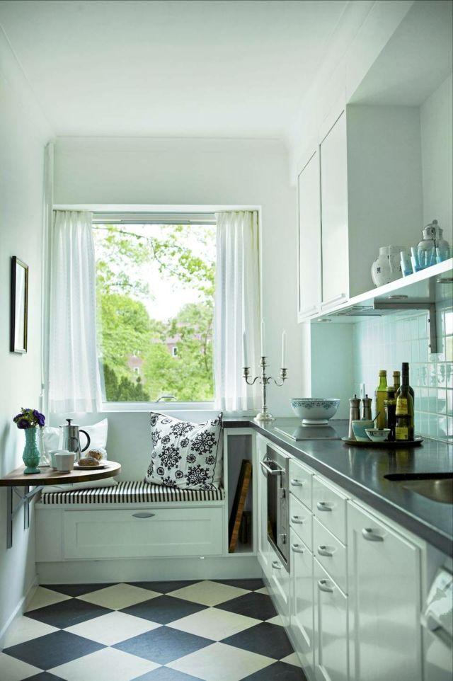 Vintage: estilo retro clásico en la cocina   Cocina pequeña, Muy ...