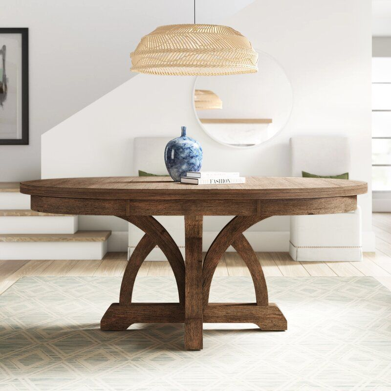 Bette Extendable Dining Table In 2020 With Images 60 Round Dining Table Dining Table Dining Table In Kitchen