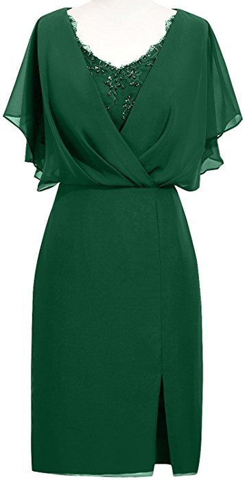 ORIENT BRIDE Modern Scoop Short Sleeve Sheath Mother of the Bride Dresses  Size 18W US Dark Green at Amazon Women s Clothing store  a1f2b9655