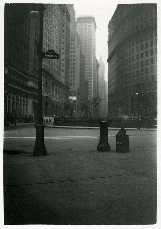 New York City, 1930.