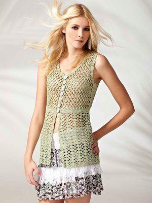 Crochet Blouse Pattern Free Google Search Crochet Pinterest