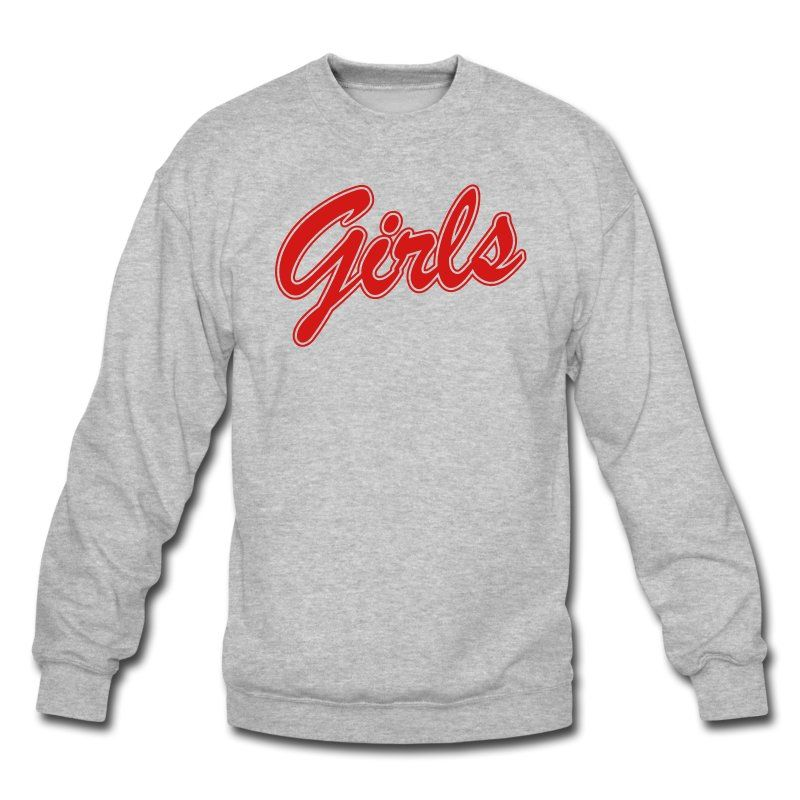 FRIENDS GIRLS Long Sleeve Shirts Crewneck Sweatshirt - black ...