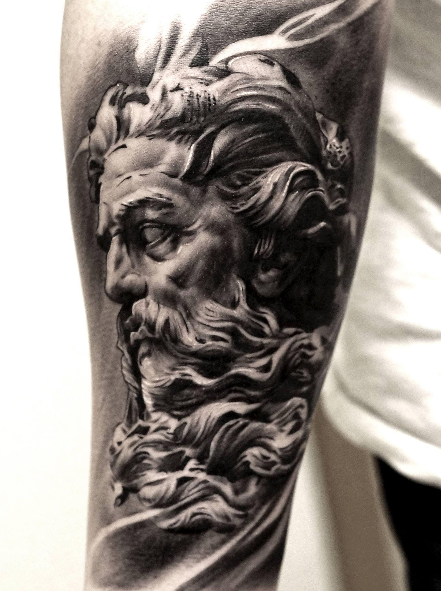 Pin De Jeremy Aka Rapsoda En Droga Tatuaje Zeus Tatuajes Brazo Y