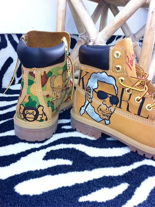 Fly shoes · Custom Timberlands