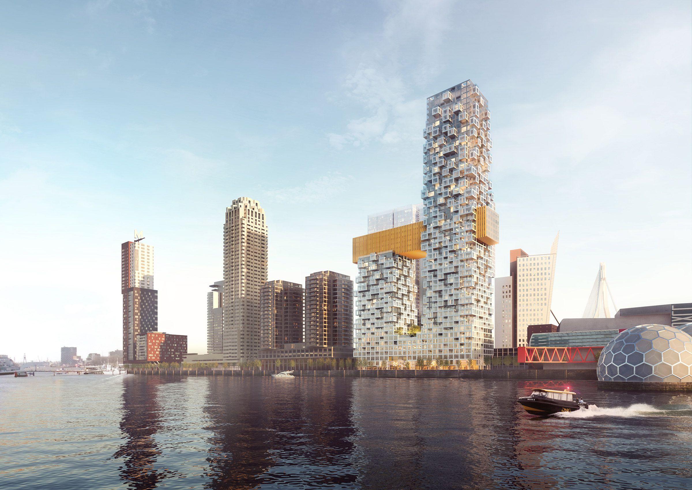 The Sax By Mvrdv In Rotterdam, Netherlands Rotterdam Architecturebuilding