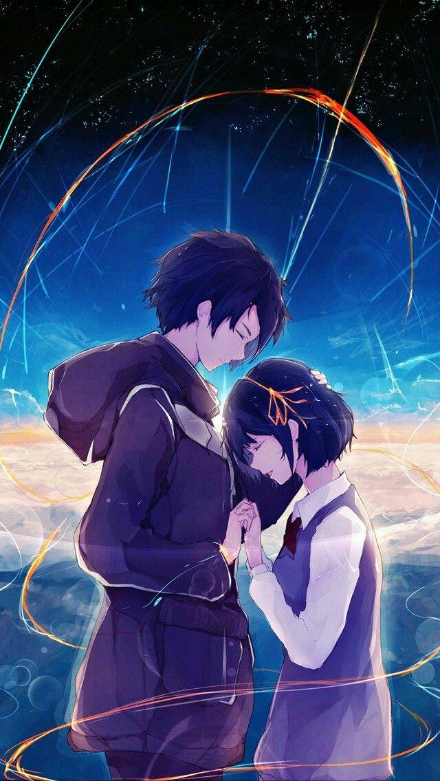 Anime Kimi No Na Wa Your Name Wallpaper Lockscreen Hd Fondo De Pantalla Arte De Anime Fondo De Anime Parejas De Anime Manga