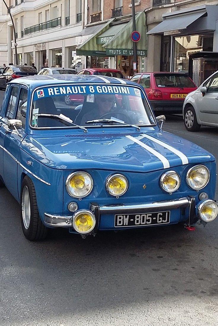 Renault R8 Gordini Renault Gordini Coches Clásicos Chicas En Autos