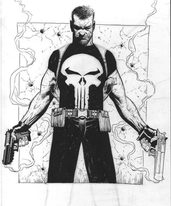 "cantstopthinkingcomics: ""The Punisher by Jerome Opena"