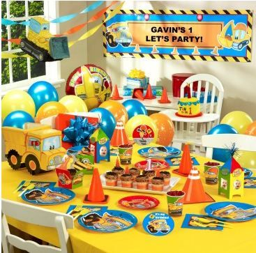cars and trucks birthday party theme Google Search Gavin 1st