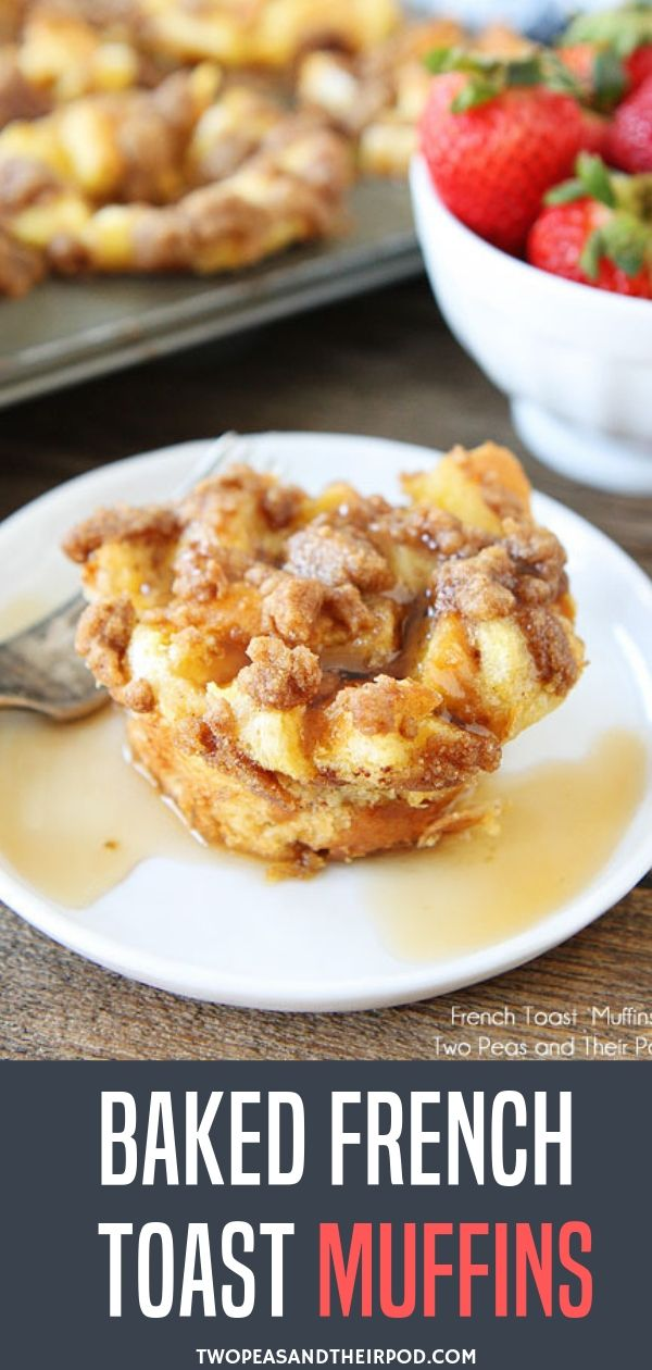 Baked French Toast Muffins images