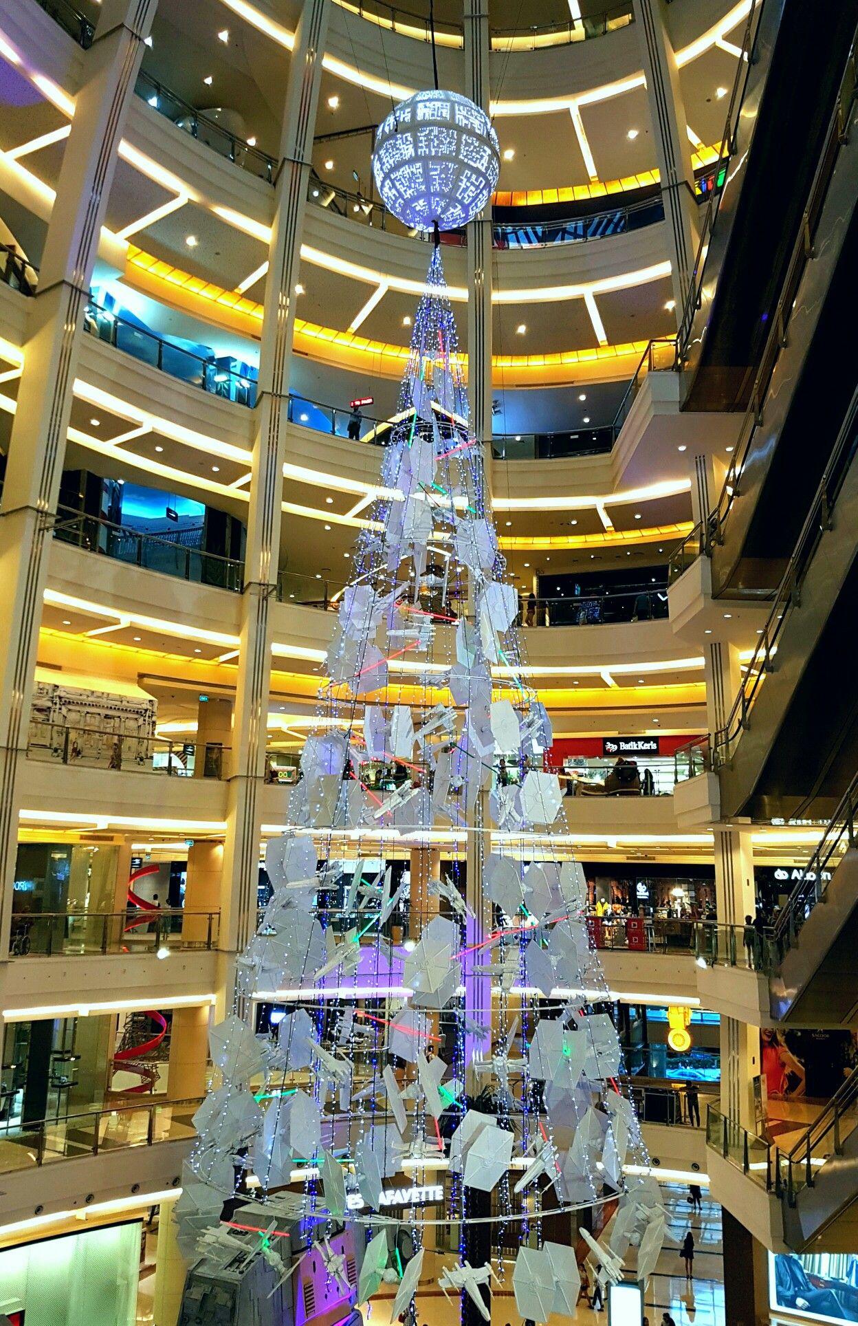 Starwars Christmas Tree Pacific Place Jakarta