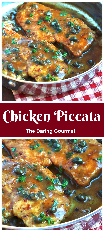 Chicken Piccata Recipe In 2020 Chicken Recipes Best Chicken Recipes Chicken Dinner
