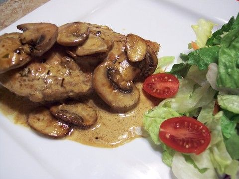 Super simple and wonderfully delicious, this chicken and mushrooms will be a hit for dinner anytime.