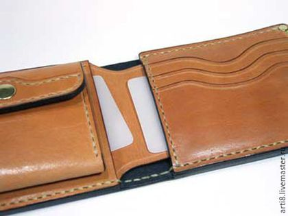 d5d4e9ce1a29 Заказать PDF Выкройка кошелька. Leather Craft. Ярмарка Мастеров. Как сшить  кошелек, лекало