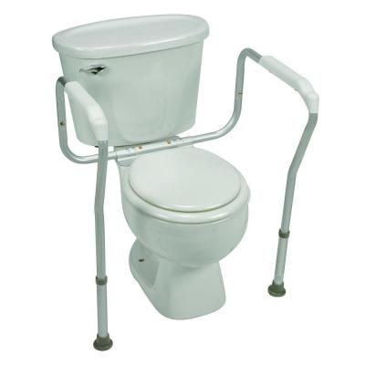 Healthsmart Toilet Safety Arm Support With Bactix Rust Resistant