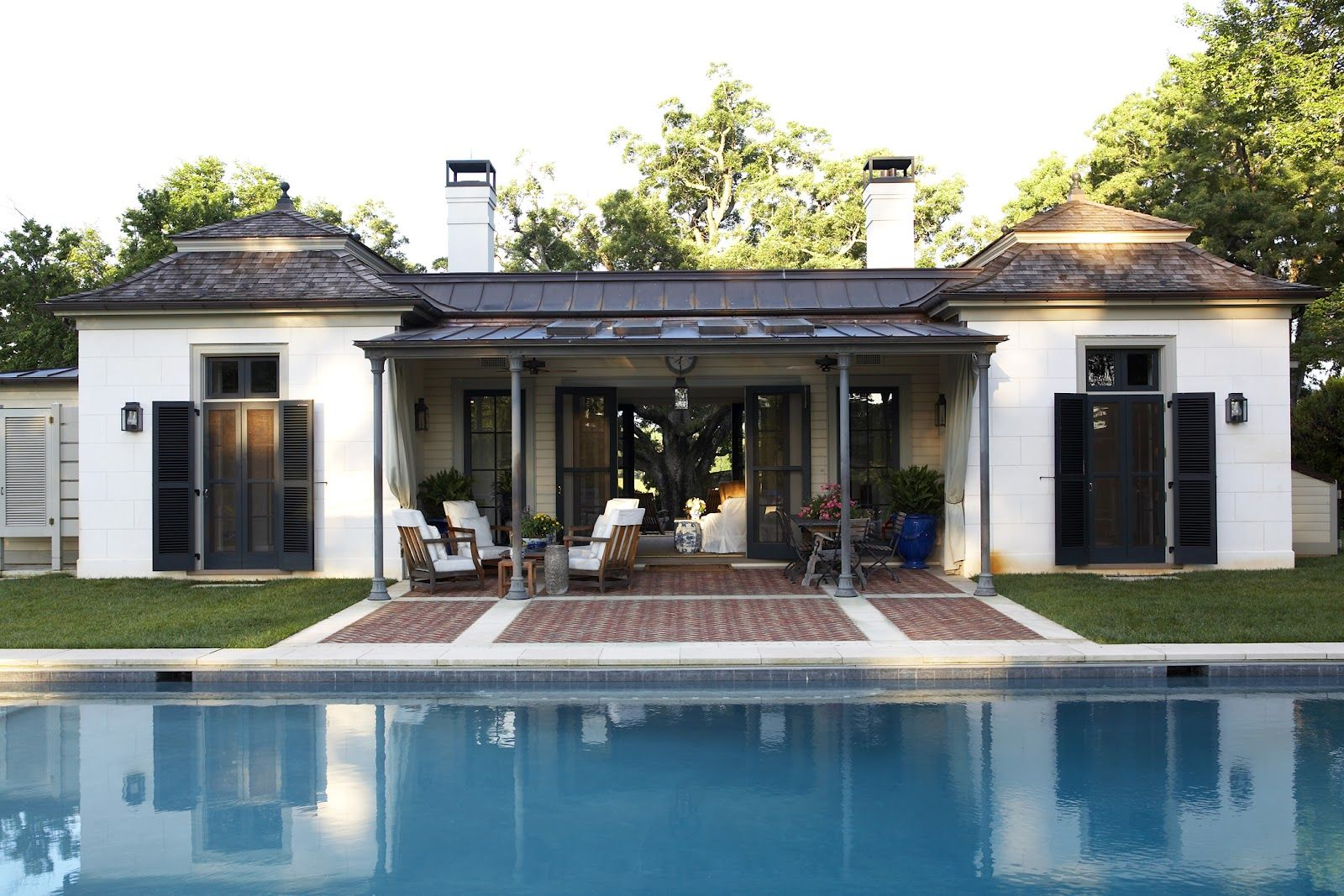 House Pool separate pool room addition « stone patios construction and design