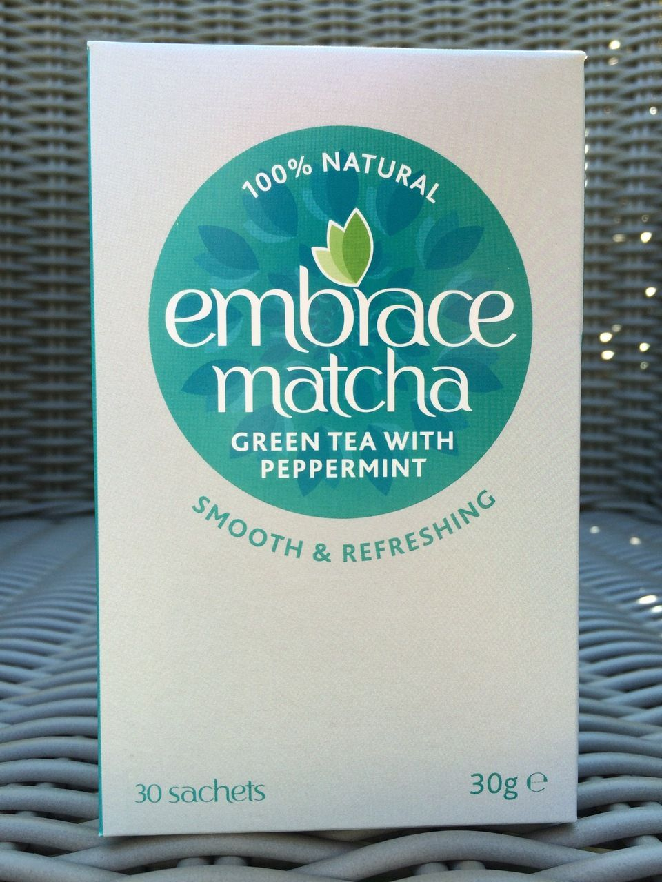 embrace matcha - Green Tea with Peppermint 30 x 1g sachets (Free UK Delivery), £24.99 (http://www.embracematcha.com/green-tea-with-peppermint-30-x-1g-sachets-free-uk-delivery/)