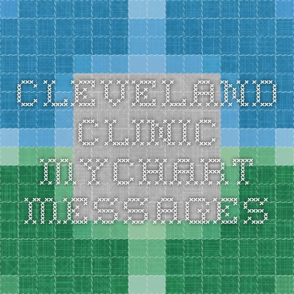 Cleveland Clinic MyChart - Messages