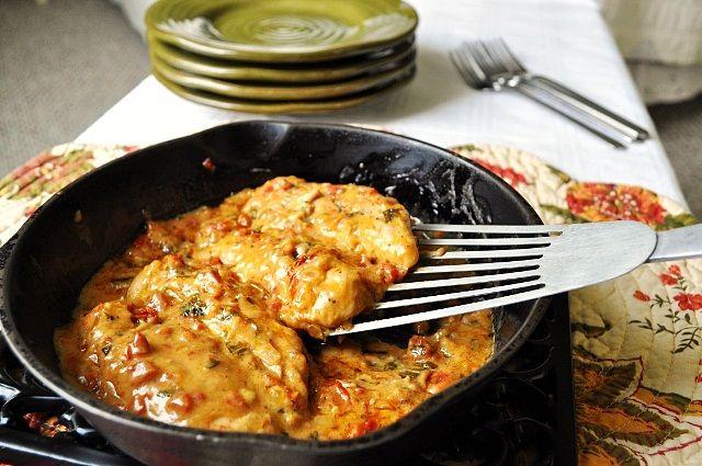 Little B Cooks:Sun Dried Tomato Chicken