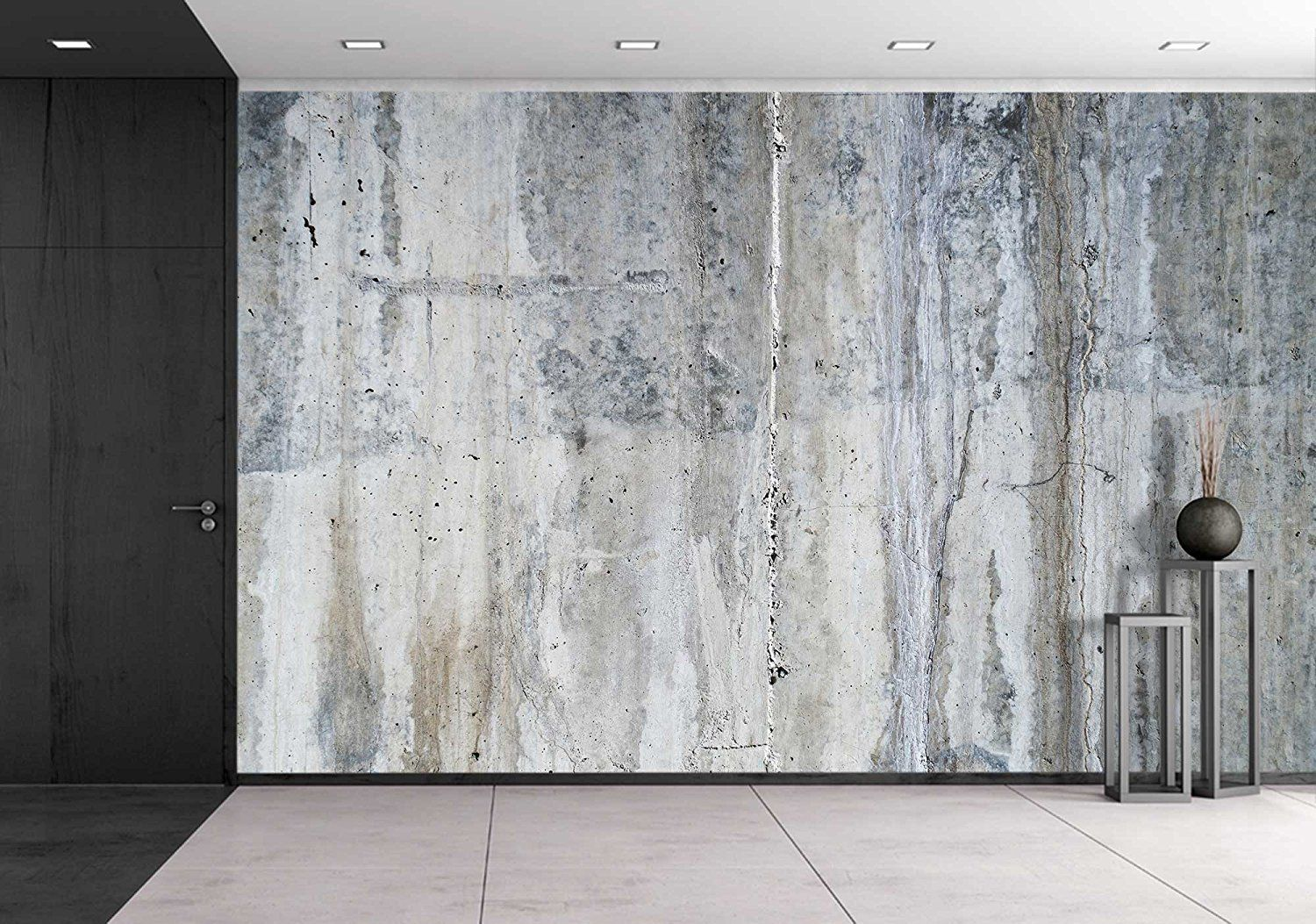 wall26 Grunge Concrete Wall Removable Wall Mural