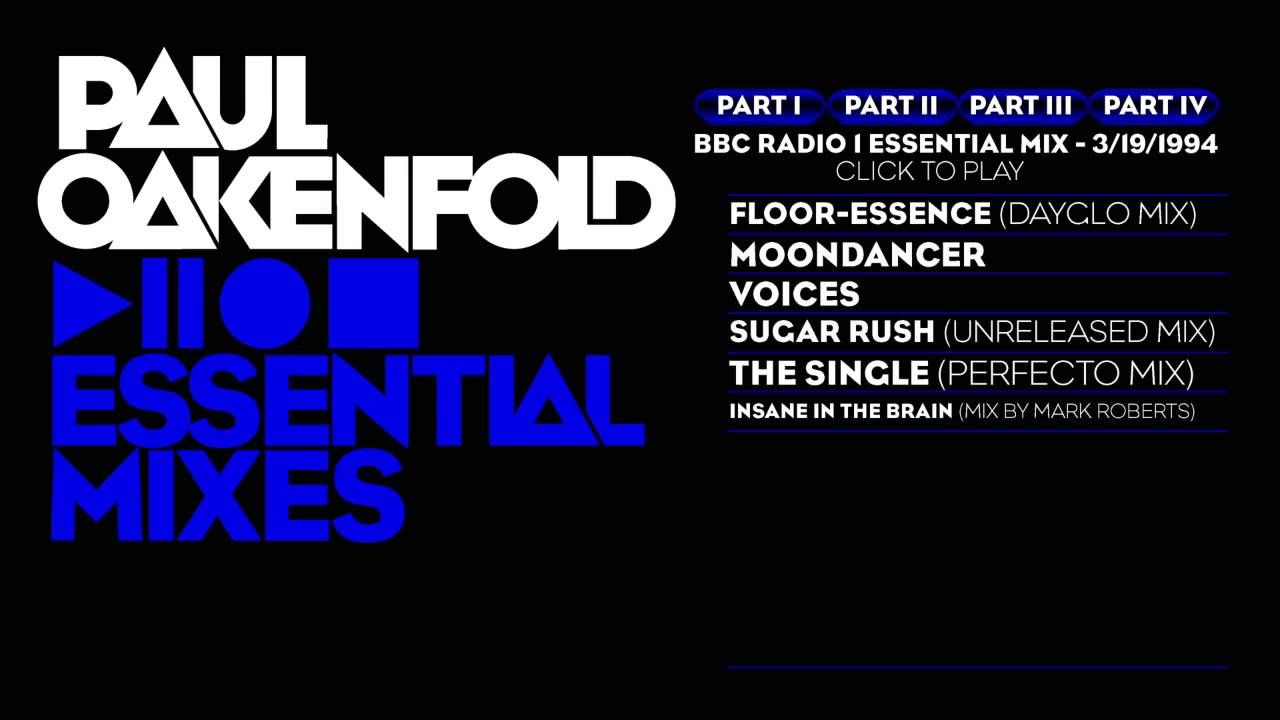 Paul Oakenfold Essential Mix: March 19, 1994 Part 4