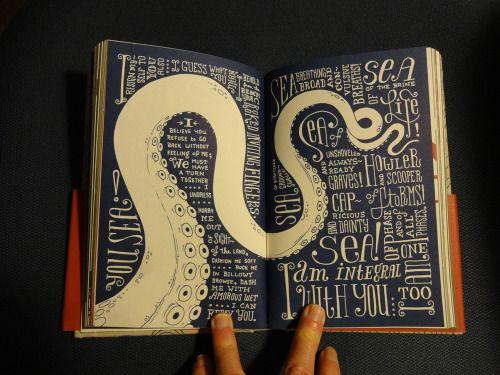Whitman Illuminated: Song of Myself... | Type Worship: Inspirational Typography & Lettering