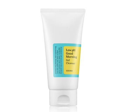 | COSRX Low PH Good Morning Gel Cleanser | Claims to control oily skin, shrink pore size, and refine the skin's texture.
