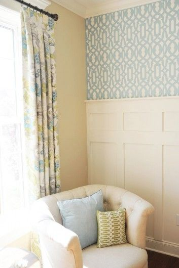Decorating a Piano Room With Stencils | Stenciled accent walls ...