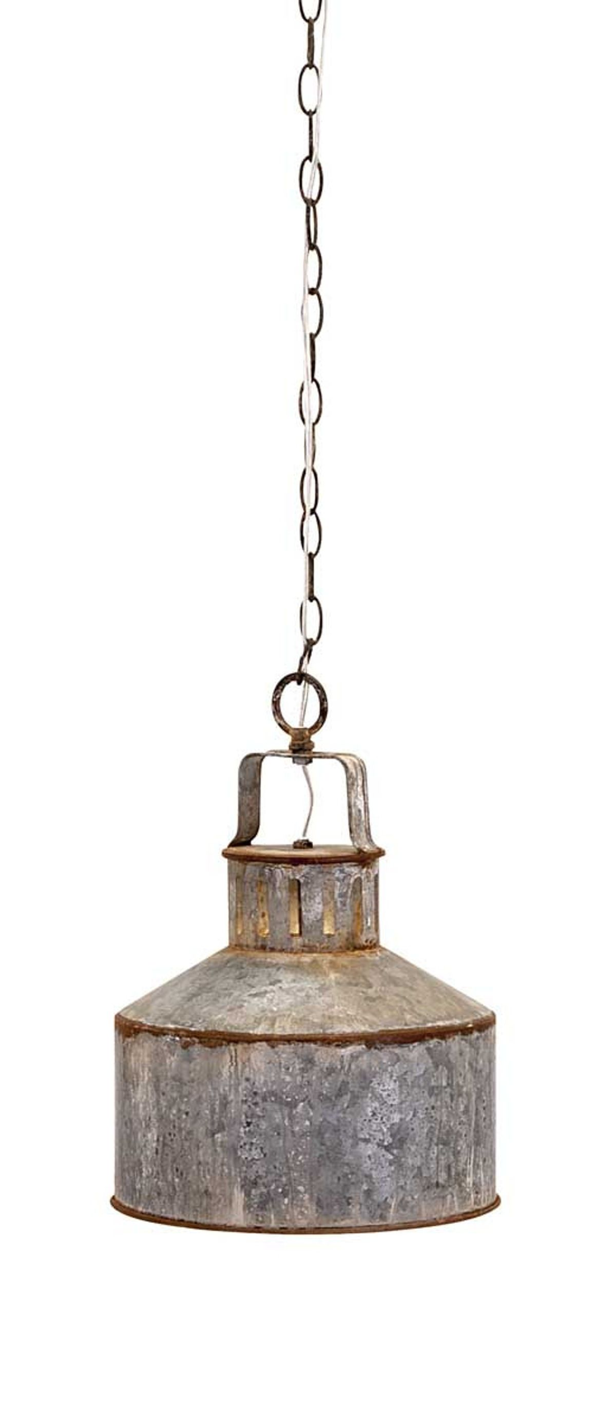 Industrial revolution: The IMAX George Galvanized Pendant Light makes any  spaceu2026