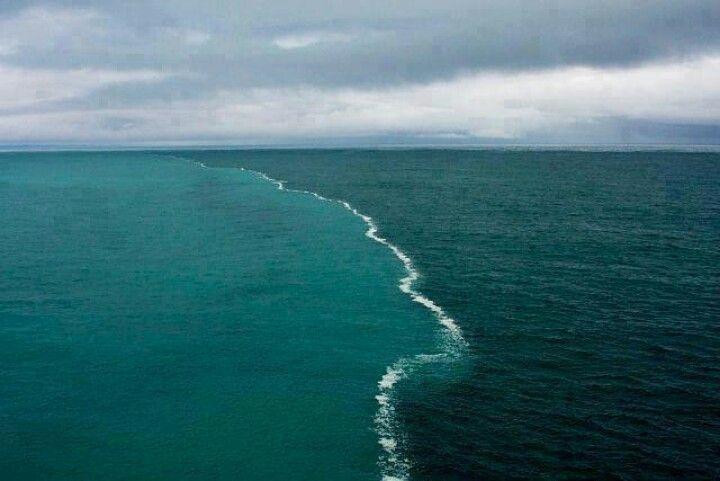 Where 2 oceans meet... Gulf of Alaska...