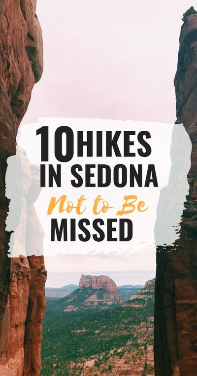 If you�re looking for some incredible things to do in Sedona, Arizona, going on one or more of these Sedona hikes is a fantastic way to spend some time. You�ll see beautiful scenery, possibly experience a Sedona vortex and make some fantastic outdoor memo