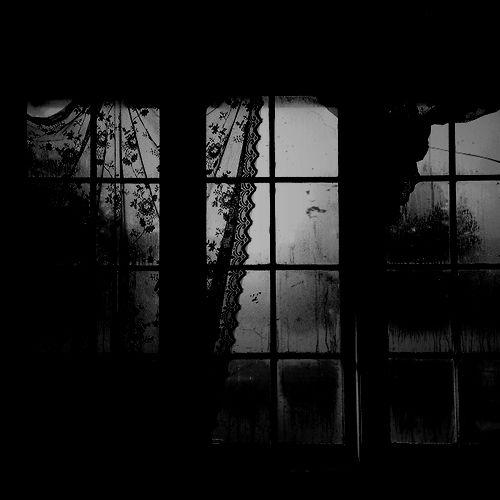 scary lost sad creepy horror black old dark rain Window darkness ...