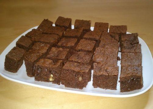 Una deliciosa receta de Brownie sin mantequilla para #Mycook http://www.mycook.es/receta/brownie-sin-mantequilla/
