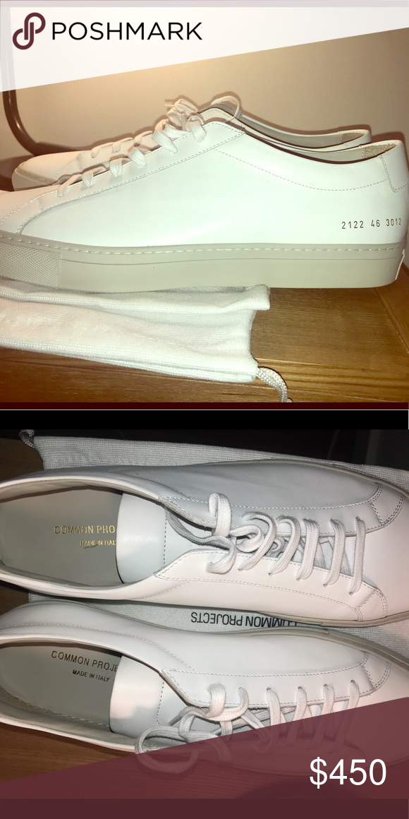 NWT Men's White Common Projects