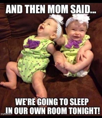 Best Funny Babies Your Favorite Twin Memes All In One Place twin parents, twin parent humor, twin laugh pinchesofwisdom.com #funny #sarcasm #liveyourbestlife #pinchesofwisdom.com 9