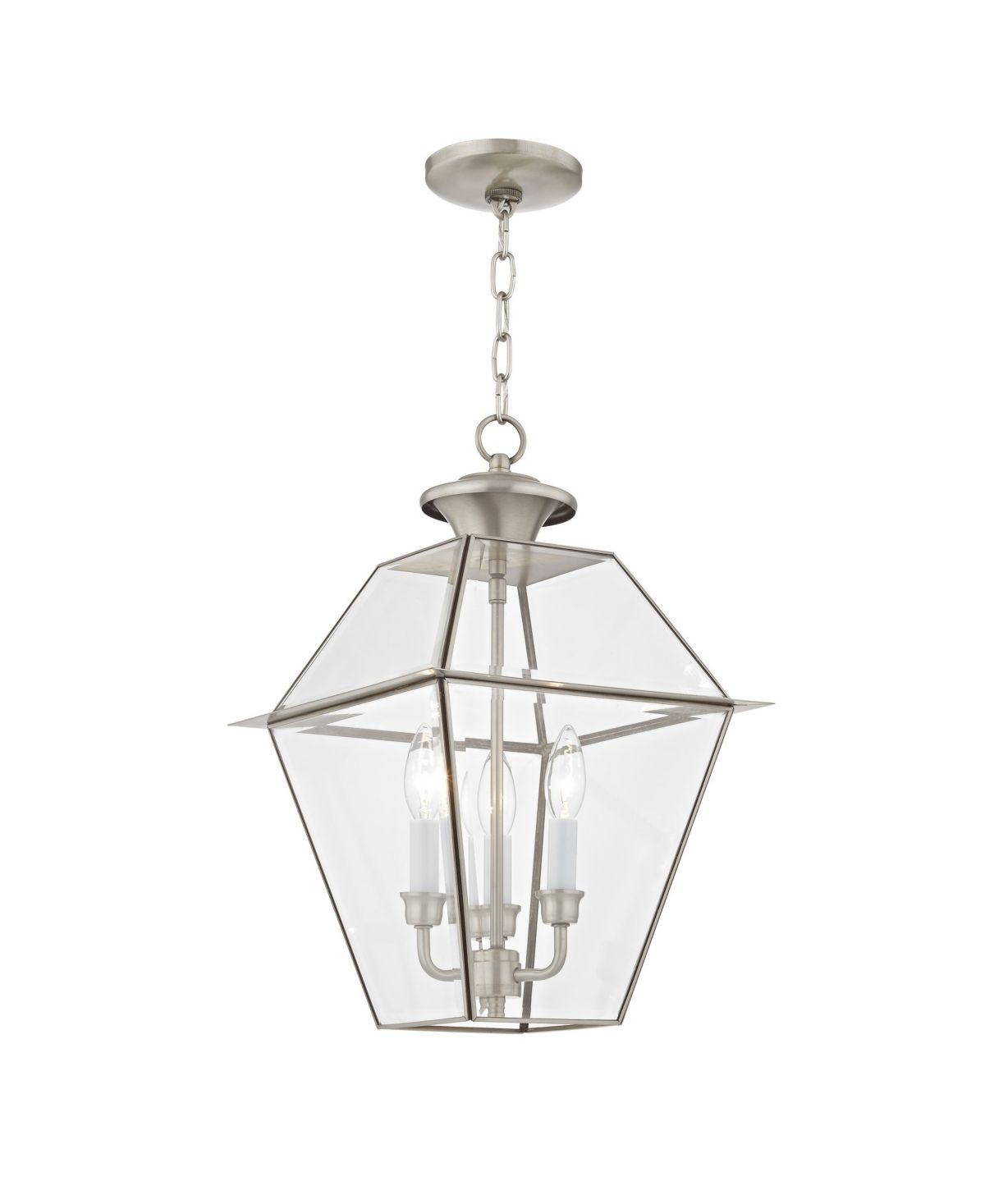 Livex Westover 3 Light Outdoor Chain Lantern Reviews Home Macy S Livex Lighting Outdoor Pendant Lighting Outdoor Hanging Lights