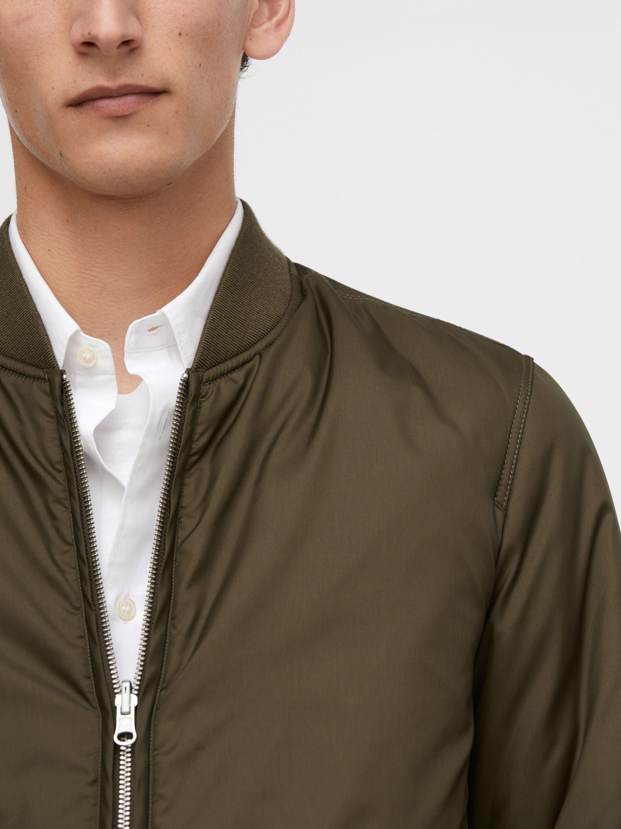 67ba29bfac 142003-470 -Nylon Liner Jacket. This jacket is part of the ARKET 2-1 ...