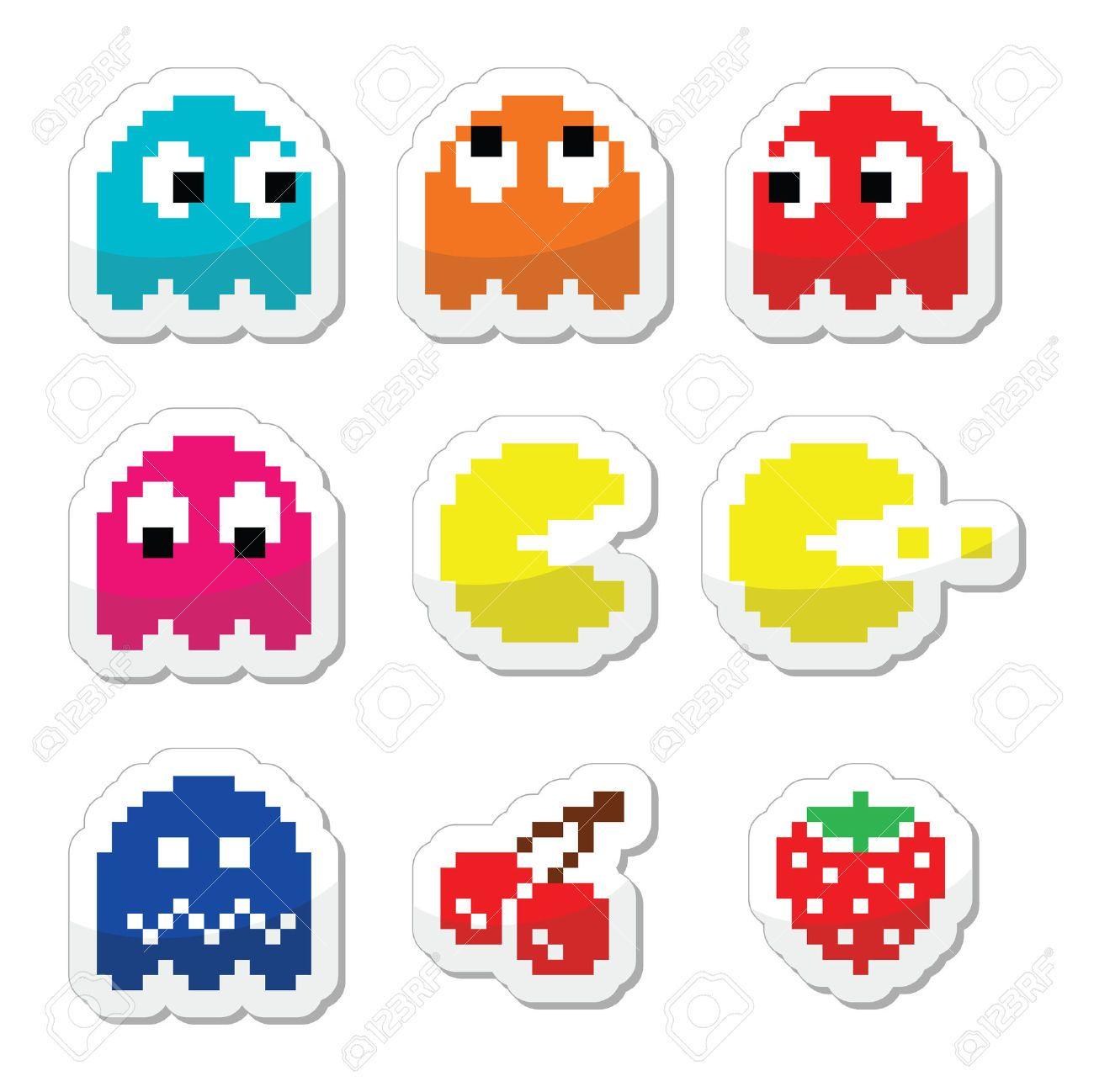 pac man cherries Google Search Pacman, Gaming computer