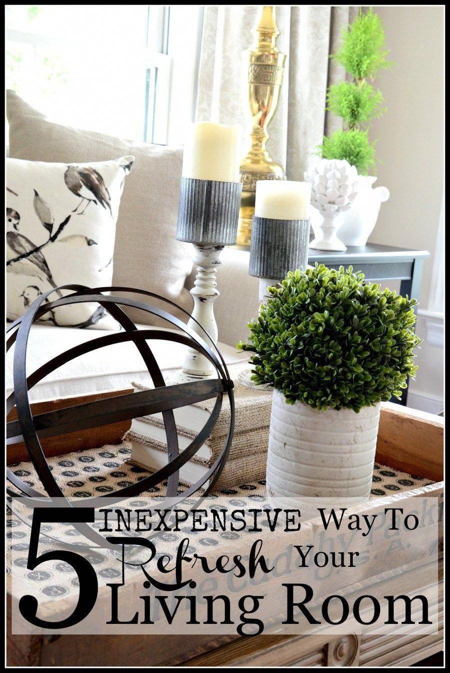 5 inexpensive ways to refresh your living room easy to do on fast and easy ways to refresh your home on a budget id=72590