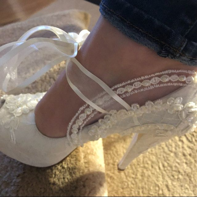NWOT white high heel sandals + sparkly rhinestones   White