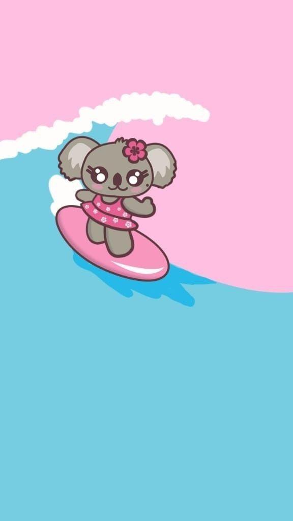 Koelhyn Surfing Wallpaper